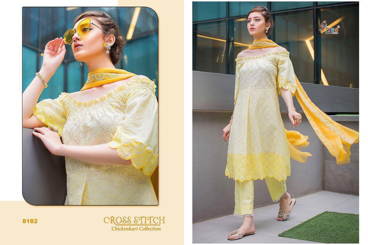 shree-fabs-cross-stitch-chikankari-design-8182