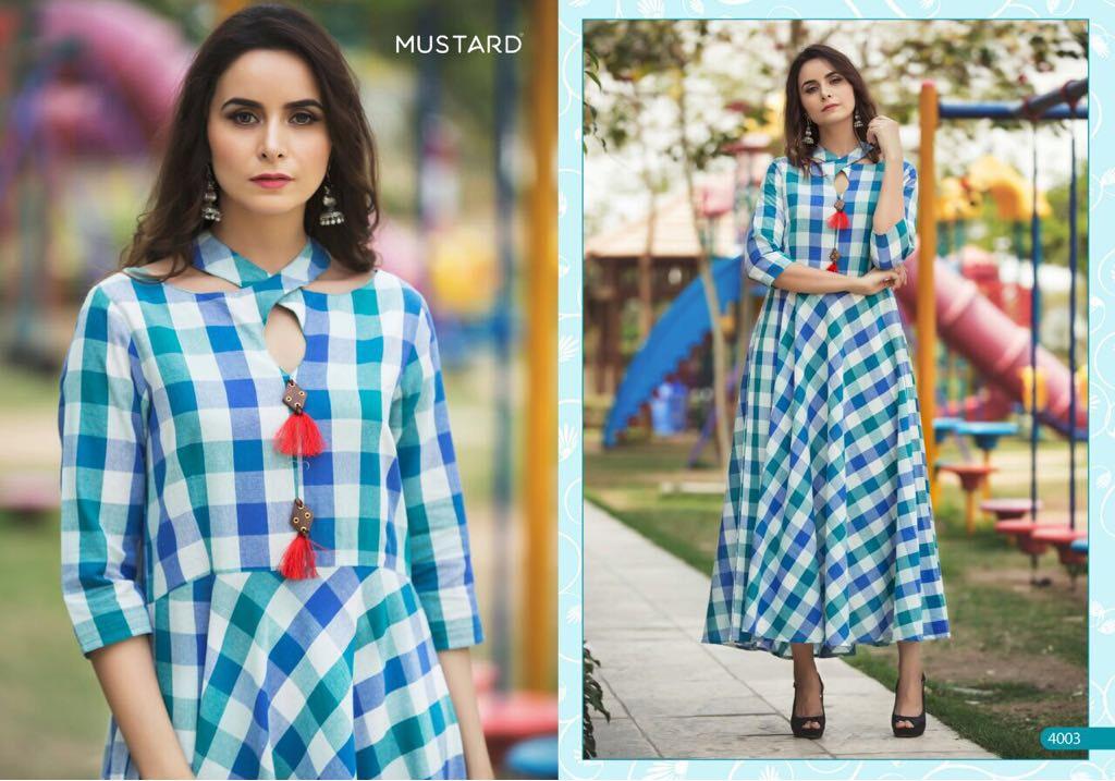 mustard-kurtis-design-no-4003